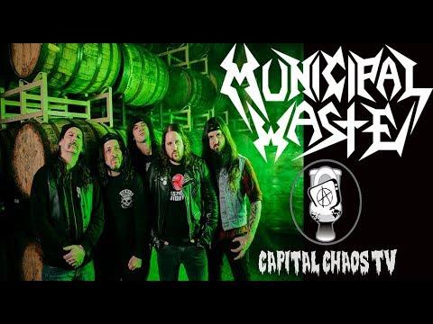 Municipal Waste (full set) live in Sacramento, California 02/24/18