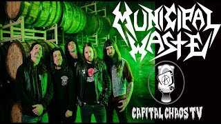 Municipal Waste (full set) live in Sacramento, California 02/24/18