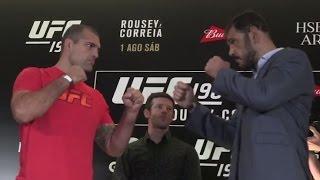UFC 190: Media Day Highlights