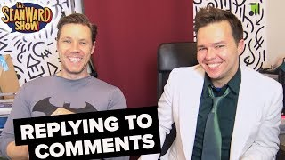 BATMAN & JOKER cast READING YOUR COMMENTS - Sean Ward & Lee Howard