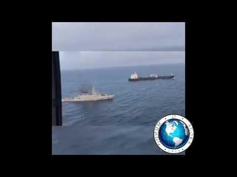 0 Primeiro navio iraniano chega escoltado à Venezuela de Maduro
