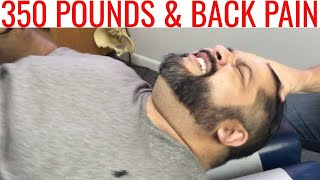 350 lbs patient has Miraculous improvement with NECK CRACK