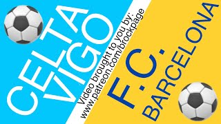 ⚽️ Celta Vigo Vs Barcelona Free Football Prediction 6-27-20 Spanish La Liga Soccer Picks & Odds