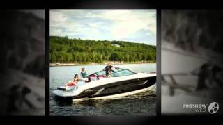 Cruisers sport series 328 cx power boat, sport boat year - 2014