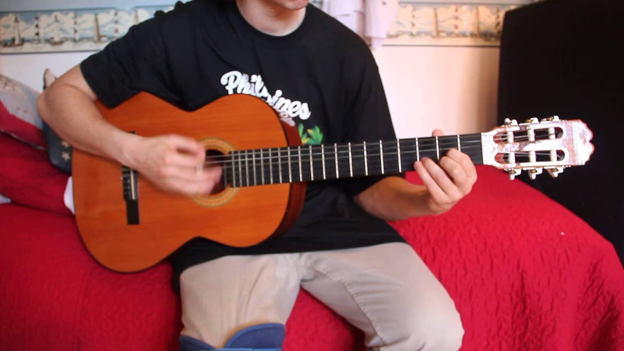 Guitarra admira paloma youtube for Guitarra admira