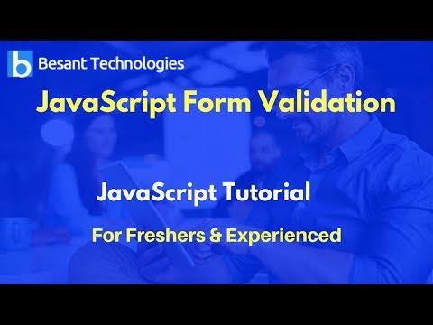 JavaScript Form Validation | JavaScript Tutorial For Beginners thumbnail