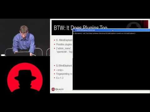 Black Hat USA 2010: BlindElephant: WebApp Fingerprinting and Vulnerability Inferencing 2/4