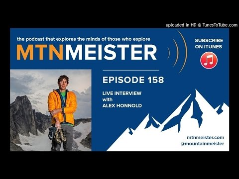 #158 Live Interview with Alex Honnold | MtnMeister