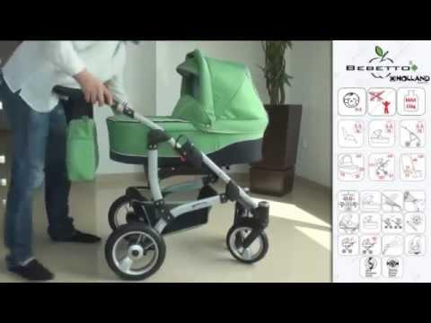 Универсальная коляска Bebetto Holland