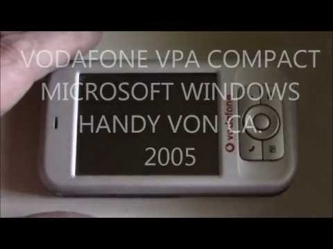 Erstes Handy mit MICROSOFT WINDOWS, VODAFONE VPA COMPACT