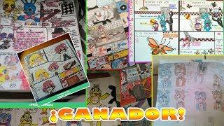 #FNAF ¡Ganador Del Concurso De Cómics! + Participantes