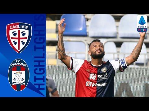 Cagliari Crotone Goals And Highlights