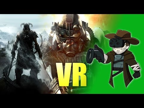 Skyrim VR and Fallout 4 VR : First Impressions
