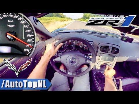 Corvette ZR1 6.2 V8 SUPERCHARGED 300km/h AUTOBAHN POV by AutoTopNL