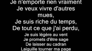 Jenifer - Tourner ma page lyrics