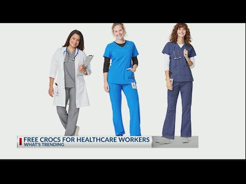 Here's How Healthcare Workers Can Get A Free Pair Of Crocs