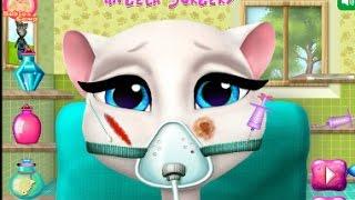 Говорящая Анжела Игра  операция  детские игры || Angela surgery game    kids games