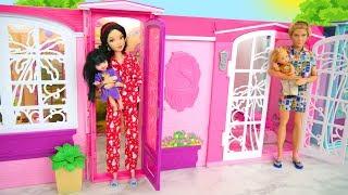 Twin House for Barbie & Ken Rumah boneka باربي البيت Casa de boneca Maison de poupée Puppenhaus