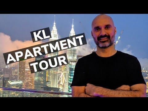 Kuala Lumpur Apartment Tour 🇲🇾 Luxury Malaysia Apartment