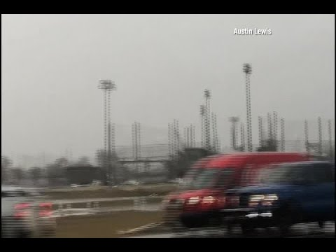 TAKE A LOOK: Tornado Damage In Alexandria, Louisiana