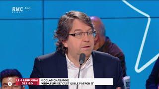 Le Grand Oral de Nicolas Chabanne - Les Grandes Gueules de RMC