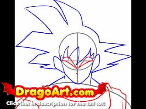 how to draw dragon ball z kai step by step youtube