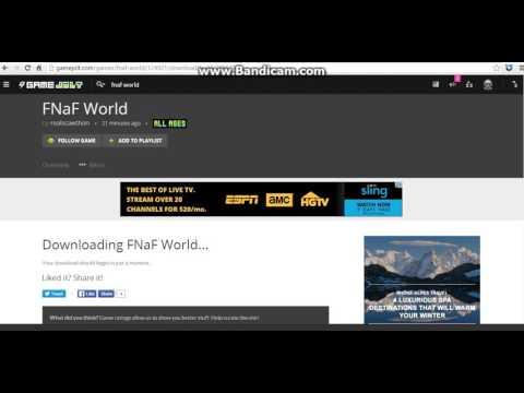 FNAF World Now Free On Gamejolt!
