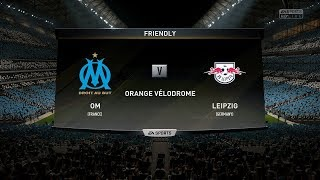 OM VS LEIPZIG    GOALS AND HIGHLIGHTS(GAMEPLAY)  - UEFA EUROPA LEAGUE  2018