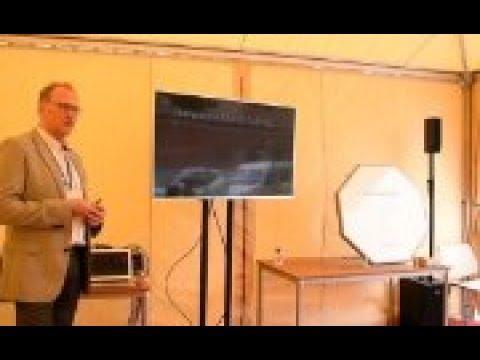 Kymeta and E3 systems - Flat Panel Antenna