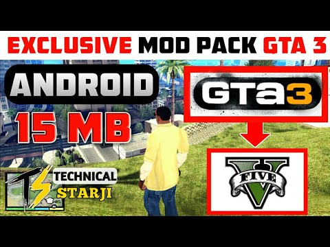 [20-MB] GTA 5 Exclusive Modpack For GTA 3 Android   New Car & Cleo Cheats    All New   Hindi