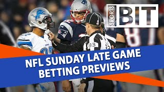 NFL Sunday Late Game Betting Previews | Sports BIT Live | September 21st