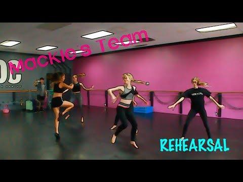EXCLUSIVE LOOK: Mackie's Team DANCE REHEARSAL!!!