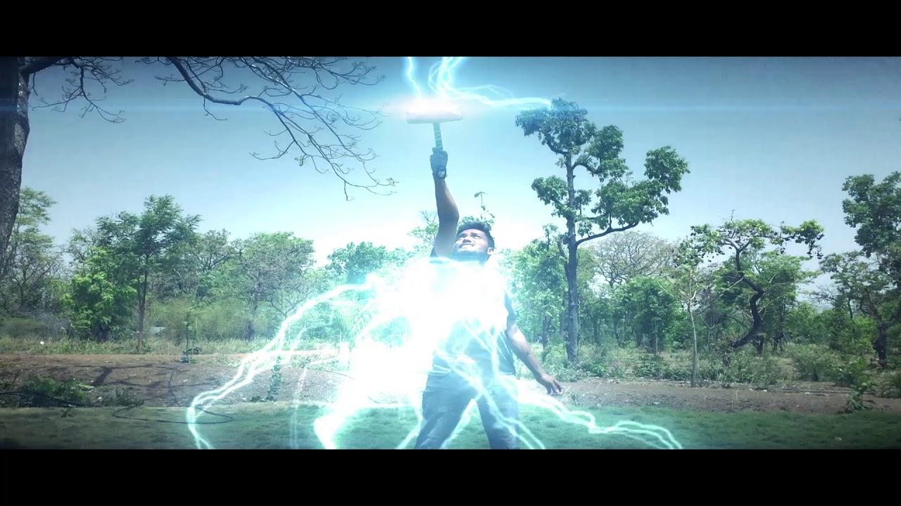 Thor Lightning Mjolnir Hammer Visual Effects Ae Youtube