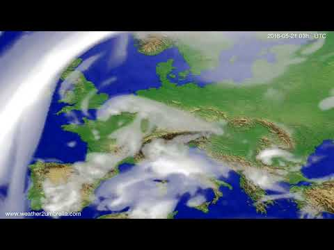Cloud forecast Europe 2018-05-18