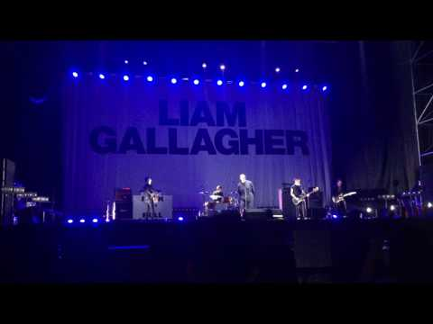For what it's worth Liam Gallagher live in Beijing china 0810(live debut)