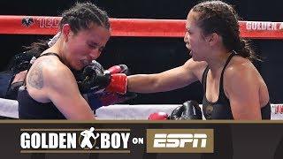 Golden Boy On ESPN: Seniesa Estrada vs Jhosep Vizcaino (FULL FIGHT)