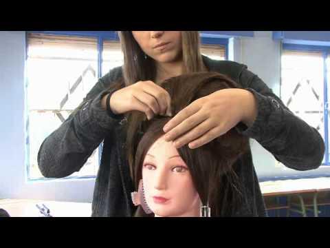 Hirutube c mo hacer un peinado de poca youtube - Como realizar peinados ...