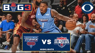 ISO JOE calls game | 4-POINTER DAGGER | Triplets get big win against Tri-State | BIG 3