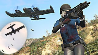 LOL Killing Players with Cuban 800 Bomber (GTA 5 Online)