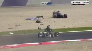 Horrifying Formula 3 Crash at Spielberg, Austria Race 1