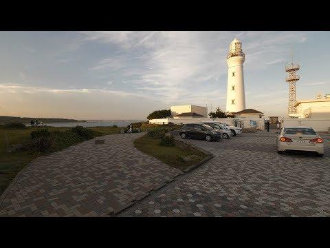 【4K】Choshi walk and train ride to lighthouse