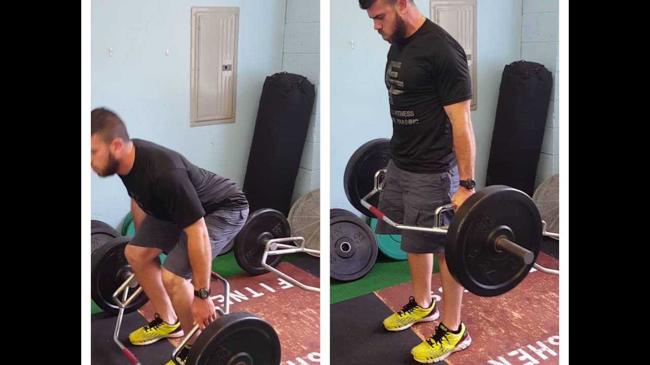 Finisher Fitness - Hex Bar Dead Lift Form Check Videos - YouTube