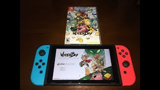 Wonderboy The Dragon's Trap Nintendo Switch Unboxing
