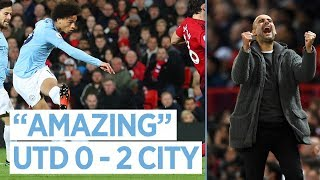 LEROY SANE REACTION | United 0-2 City