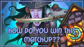 How do you win this matchup?? | Kingsbane rogue | The Witchwood | Hearthstone