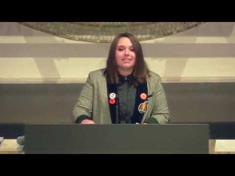 Temple Israel - Lily Kollin's Spoken Word At Solidarity Shabbat