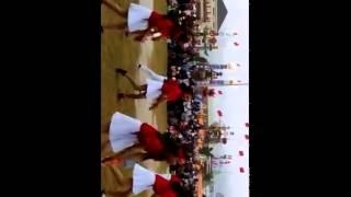Dàn hot Girl THPT nhảy điệuj dân vũ rửa tay trong ngày hội trại 26-30