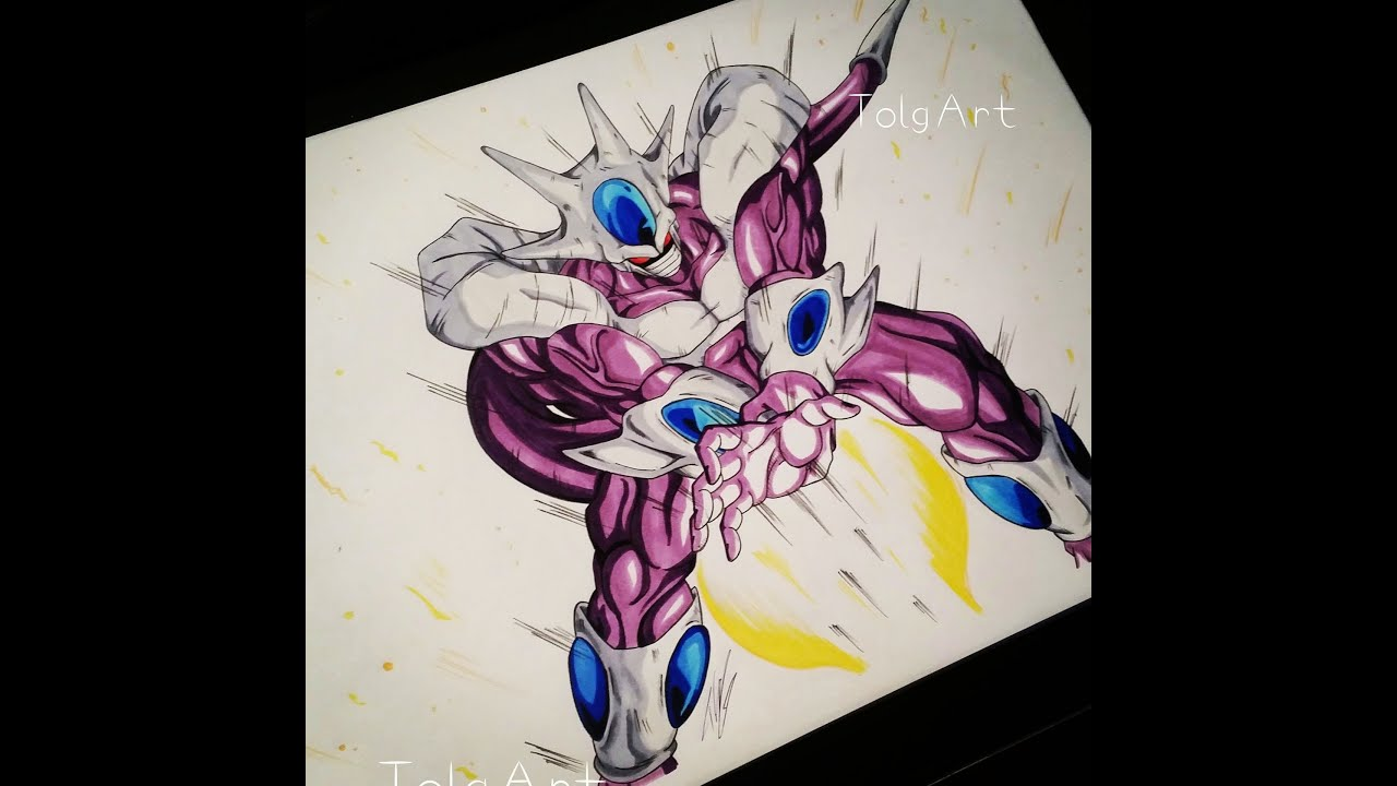 Drawing Cooler Final Form from Dragon Ball Z - YouTube