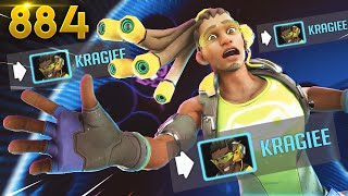 Is KRAGIEE The WORST LUCIO!? | Overwatch Daily Moments Ep. 884 (Funny and Random Moments)