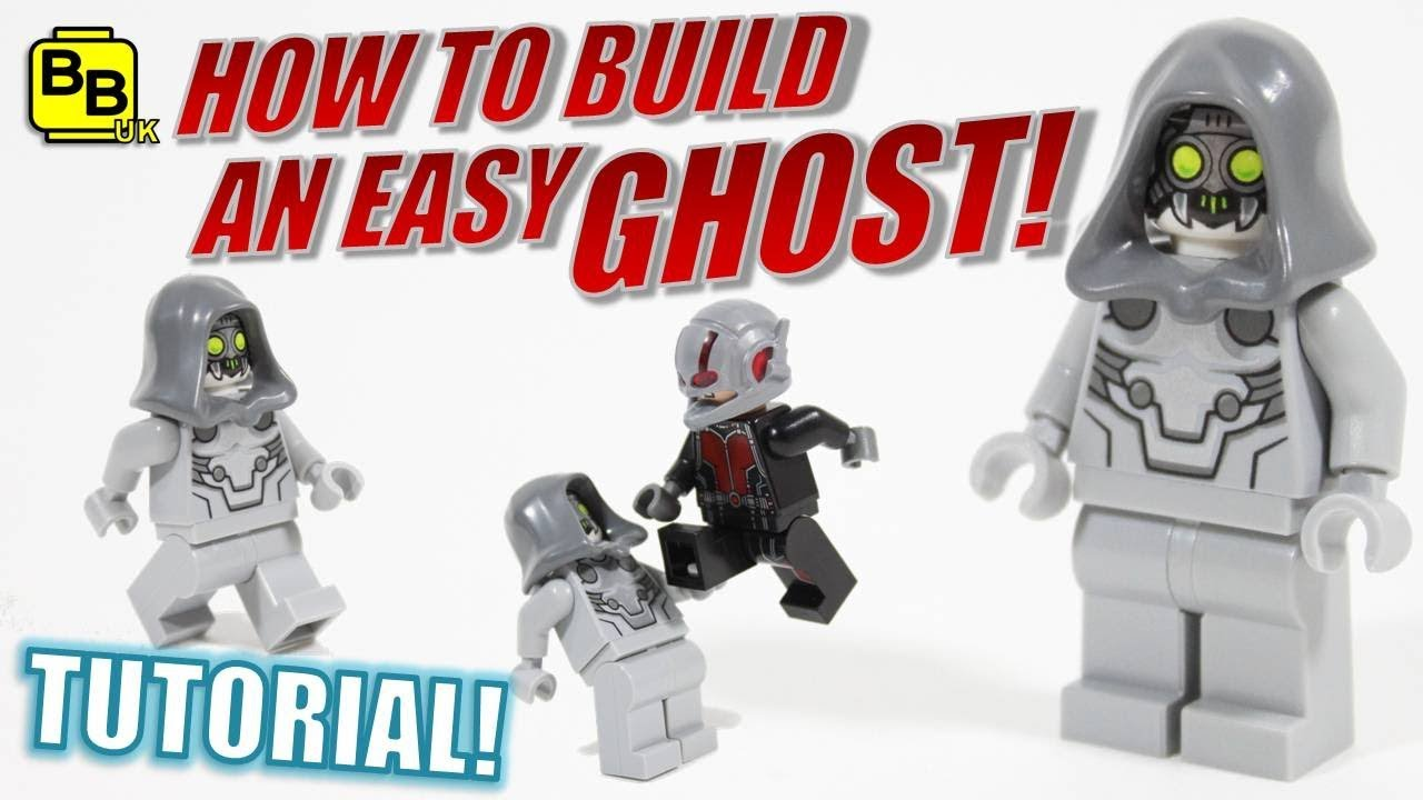 how to build a lego minifigure